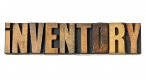 inventory word in wood type