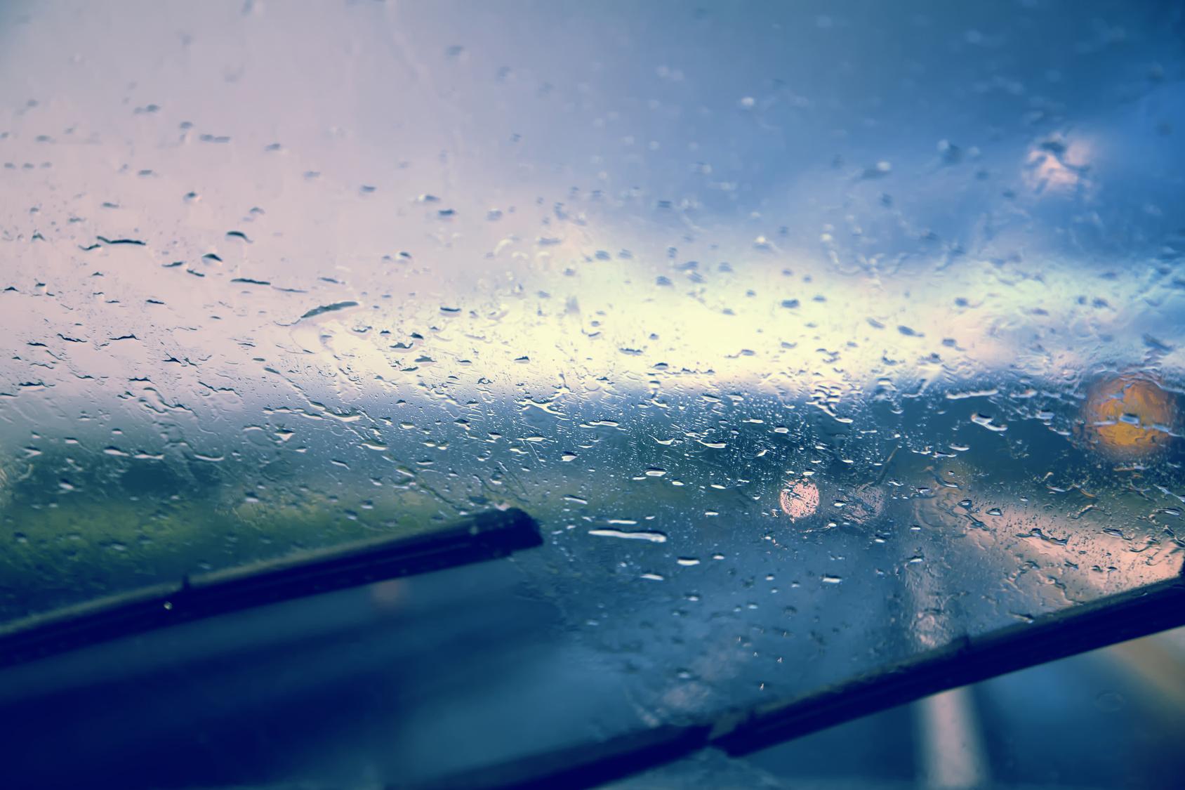 Капли дождя своими руками